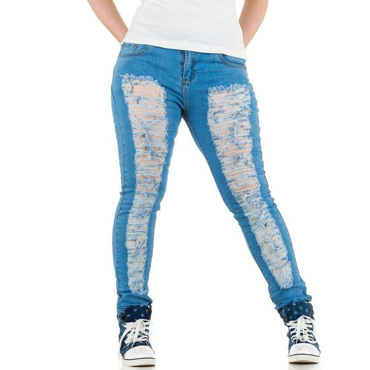 Trendy jeans grote maten