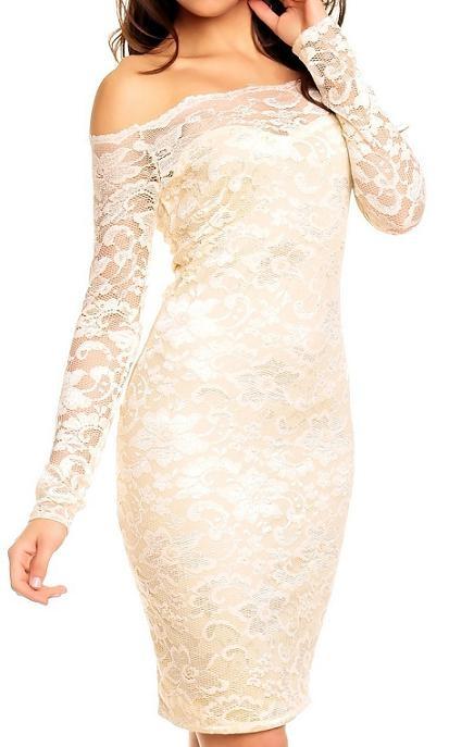 Dames jurk met kant